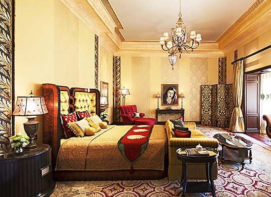 Room at Rambagh Palace Jaipur