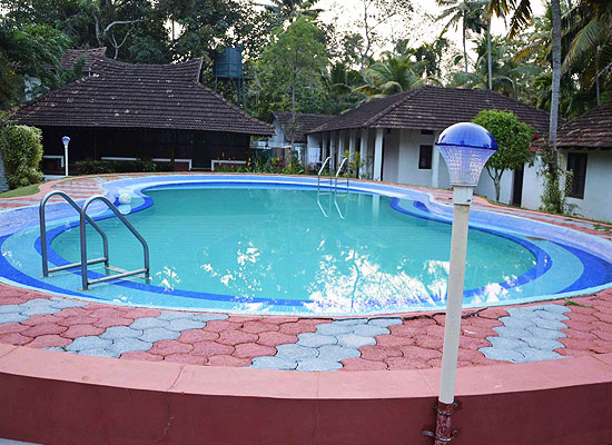 Kayaloram Lake Resort Alleppey Swimming Pool
