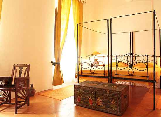Heritage Villa Helena pondicherry bedroom