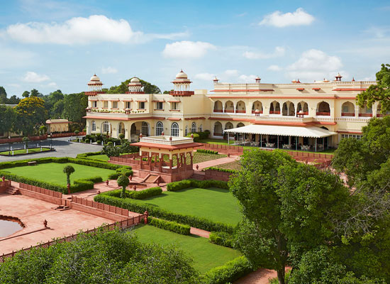 Jai Mahal Palace Jaipur Outside View