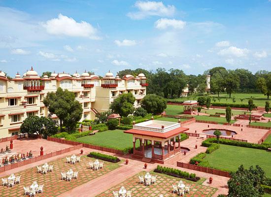 Jai Mahal Palace Jaipur Garden View
