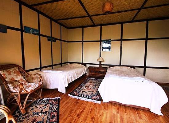 Martam Village Resort Martam House Gangtok bedroom
