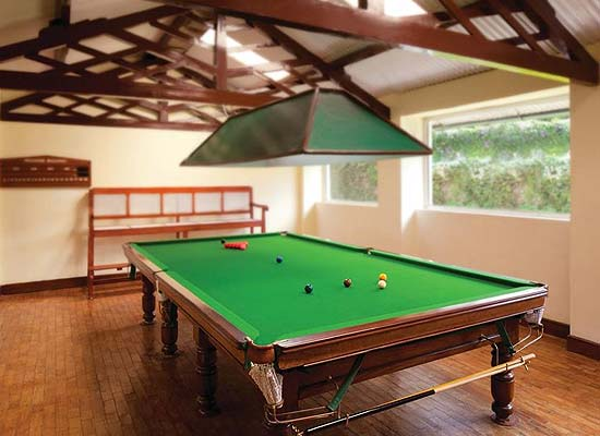 Taj Savoy Hotel Ooty Recreational Activities