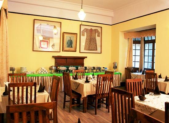 Balrampur House Nainital Dining