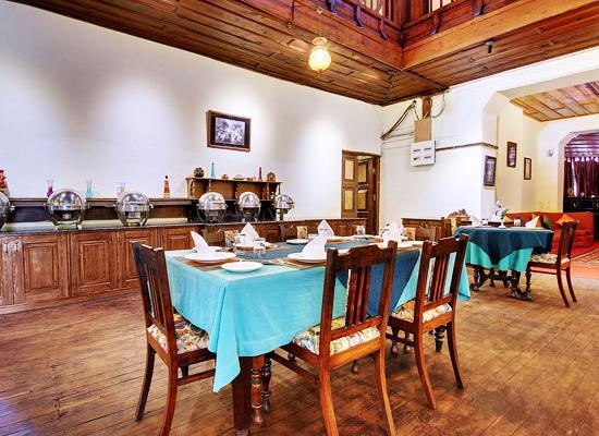 Chevron Fairheavens nainital dining room