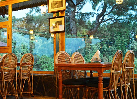 Cloud End mussoorie balcony sitting area