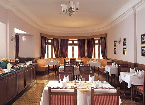 Restaurant at The Claridges Nabha Residence Mussoorie