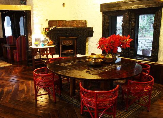 The Cottage Jeolikot Nainital Dining