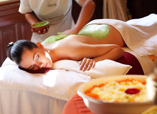 Ananda in Himalayas Uttarakhand Spa Therapies