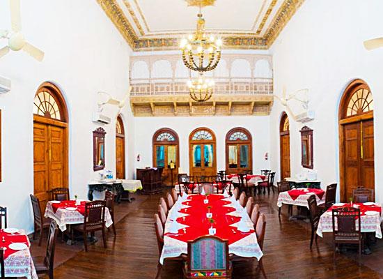 Hotel Baradari Palace patiala dining room