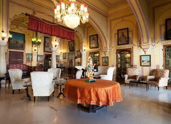 Castle Kanota jaipur dining hall