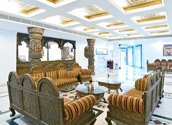 Large Sitting Area at Orchha Resort