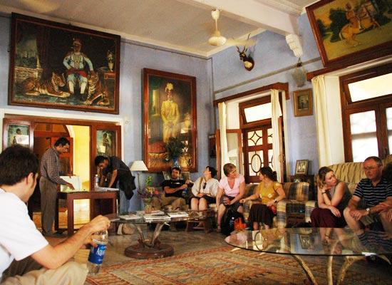 Bhanwar Singh Palace Pushkar Dining