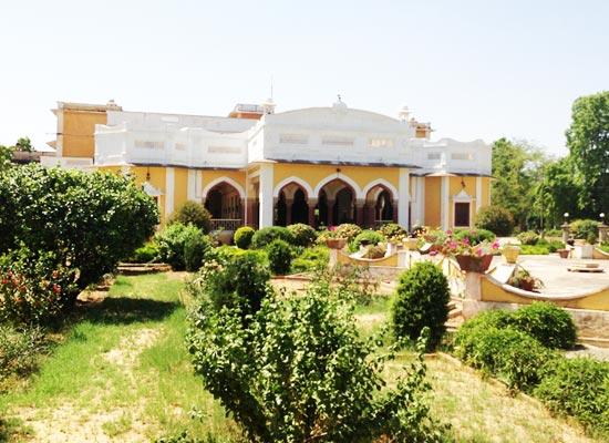 Bhanwar Singh Palace Pushkar Garden View