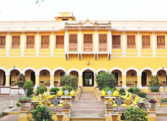 Bhanwar Singh Palace Pushkar Outside