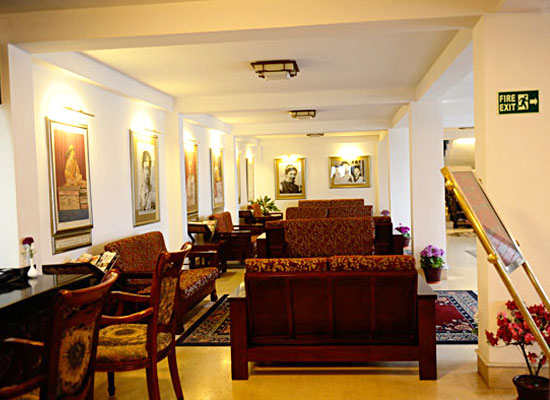 Denzong Regency gangtok living room