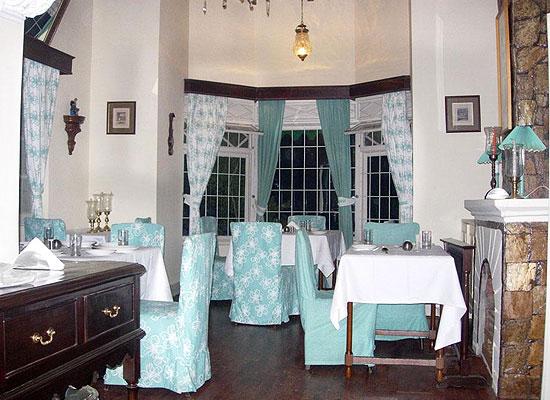 Dining area at Taradale Cottage Ramgarh, Uttarakhand