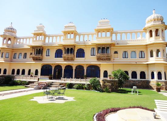Fateh Bagh Palace Ranakpur Garden View