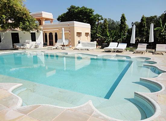 Fateh Bagh Palace Ranakpur Pool