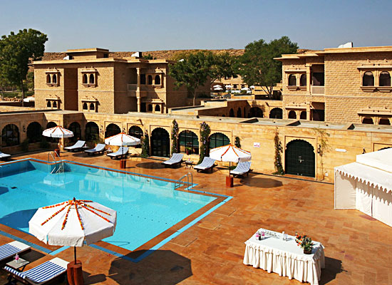 Gorbandh Palace Jaisalmer Swimming Pool