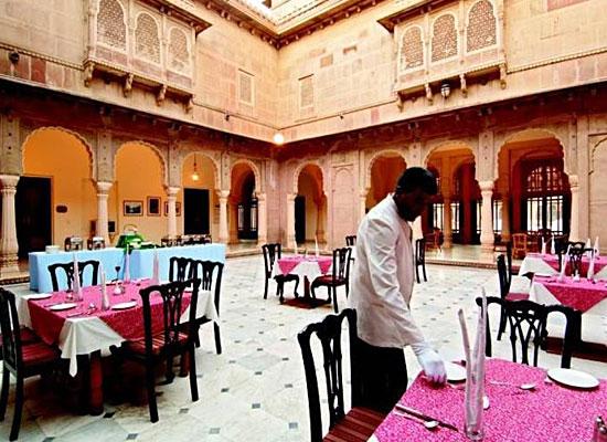 Lalgarh Palace bikaner dining area