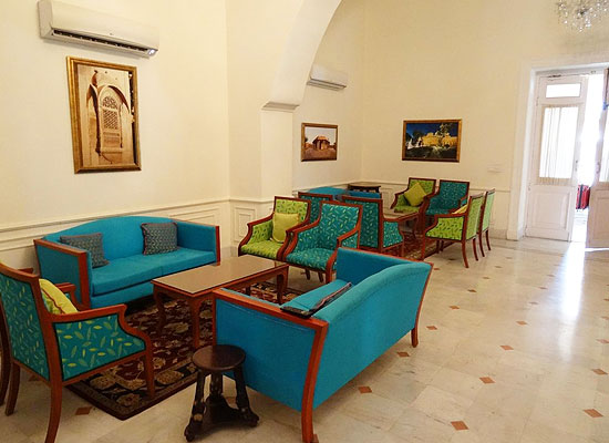 Lalgarh Palace bikaner sitting area