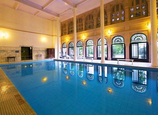 Lalgarh Palace bikaner pool view