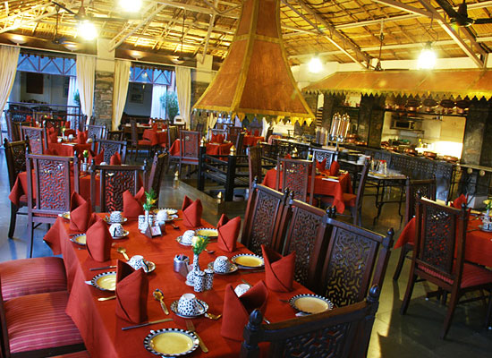 Restaurant at The Aodhi Kumbhalgarh, Rajasthan