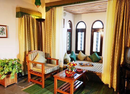 Sitting area at The Aodhi Kumbhalgarh, Rajasthan