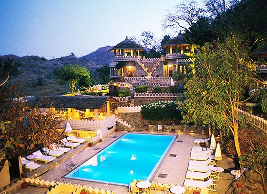 Swimming Pool at The Aodhi Kumbhalgarh, Rajasthan