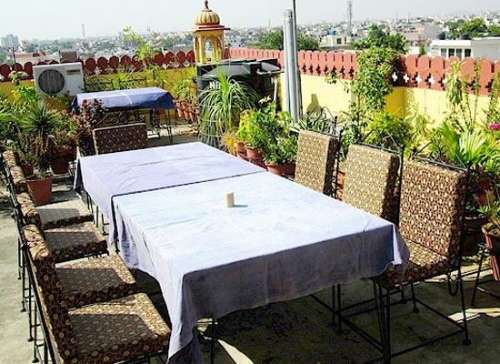 Baba Haveli Jaipur Open Air Sitting