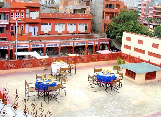 Karnot Mahal Jaipur Terrace Restaurant