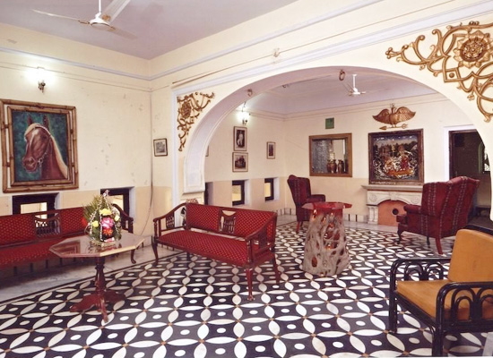 Karnot Mahal Jaipur Sitting Area