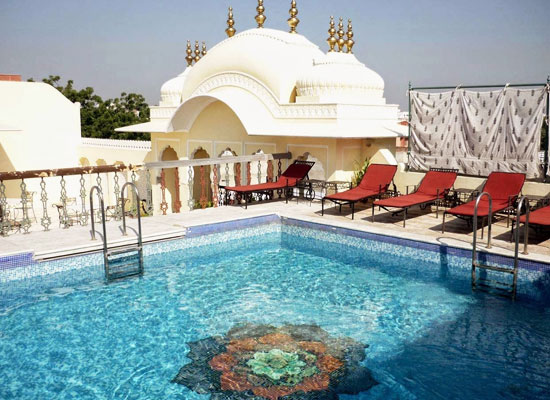 Swimming Pool at Khandela Haveli Jaipur