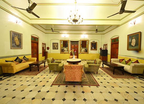 Sitting Area at Koolwal Kothi Nawalgarh, Rajasthan