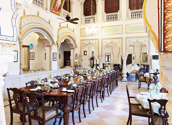 Alsisar Haveli Hotel Jaipur Restaurant
