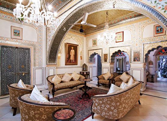 Alsisar Haveli Hotel Jaipur Sitting