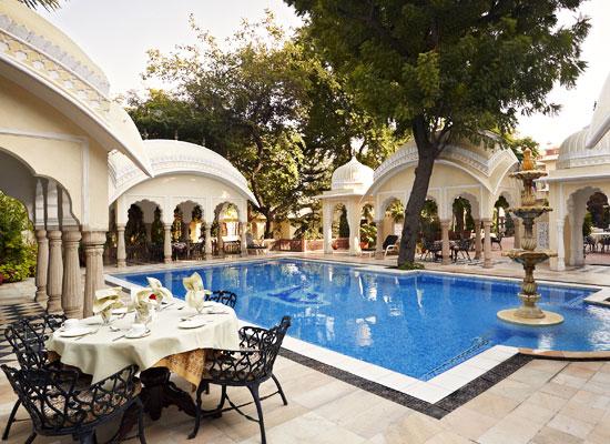 Alsisar Haveli Hotel Jaipur Poolside