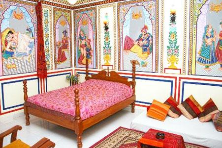 Hotel Shekhawati mandawa bedroom