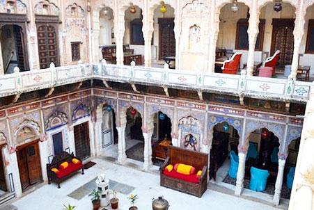 Hotel Shekhawati mandawa inside view