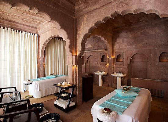 Hotel Raas jodhpur spa area