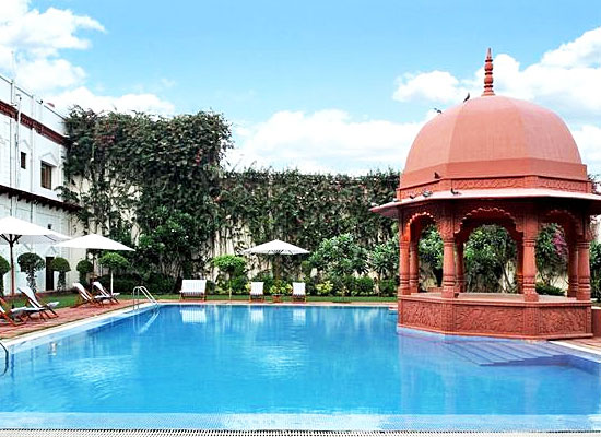 Grand Imperial Agra Swimming Pool