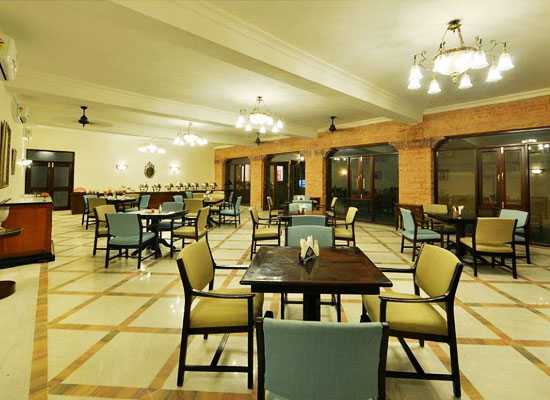 Madho Vilas Jodhpur dining area