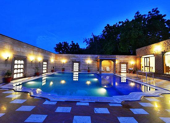 Madho Vilas Jodhpur pool view