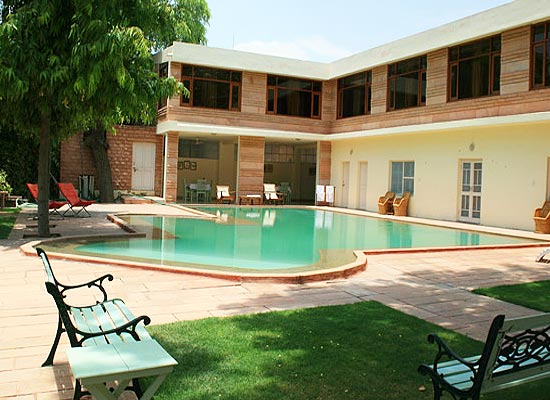 Swimming Pool at Polo Heritage Jodhpur