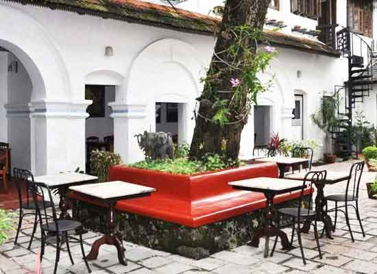 Garden Area at Old Courtyard Kochi
