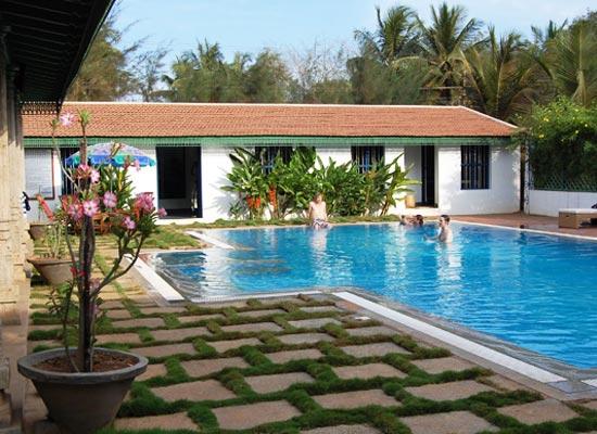 Chettinadu Mansion chettinad pool side