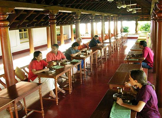 Kalari Kovilakom Palakkad Dining