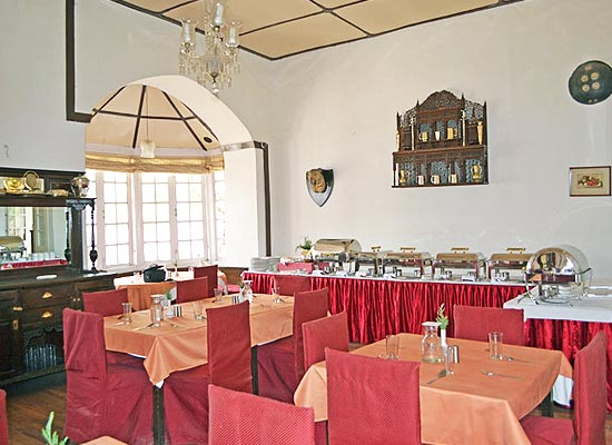 Restaurant at Palace Belvedere Nainital