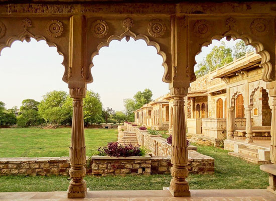 Deo Bagh Gwalior garden view